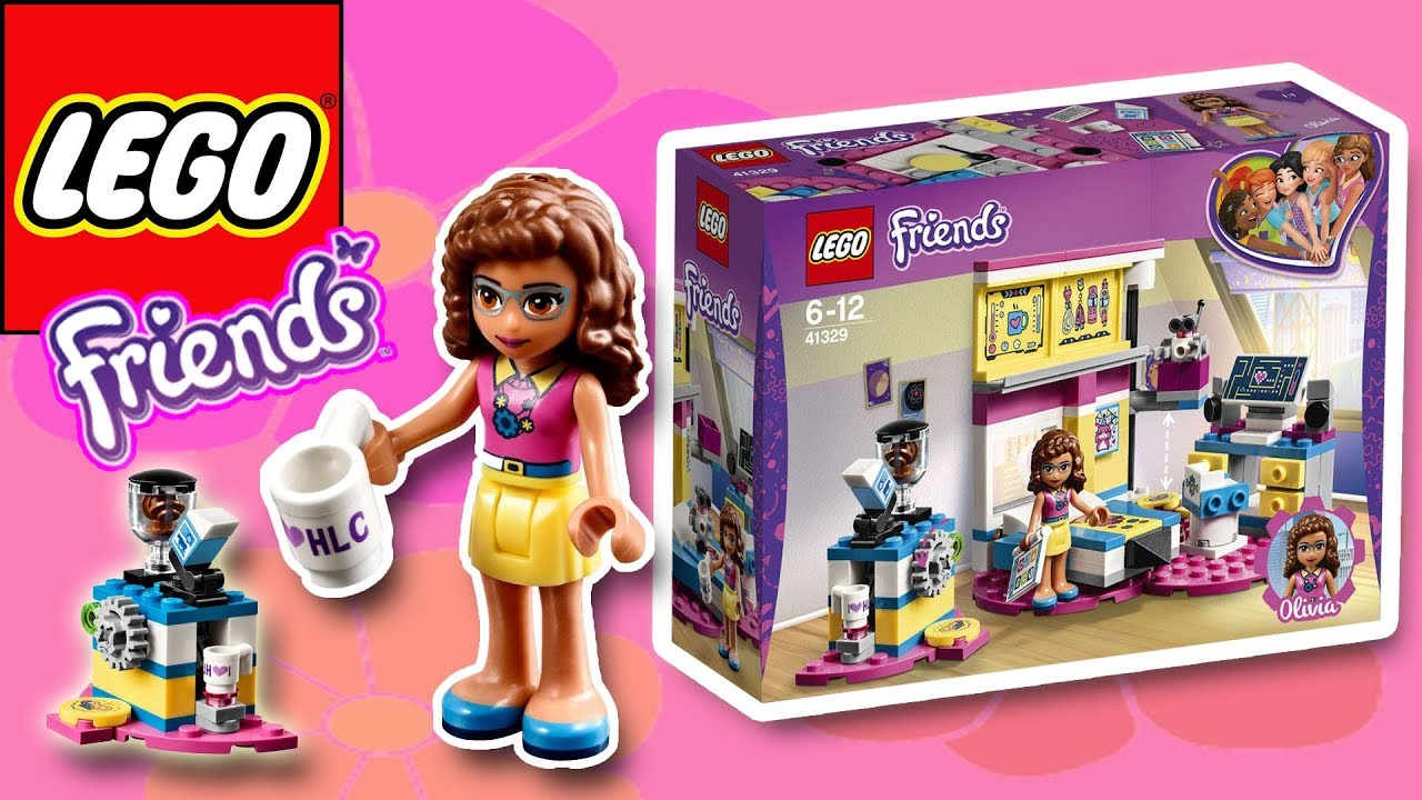 Lego Friends Olivias Deluxe Bedroom Build Fun Play Little