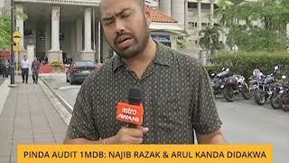 Pinda audit 1MDB: Najib & Arul Kanda didakwa
