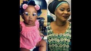 Daughter Left Behind By Late ActressMoji Olaiya Is A Year OldSee What The Little Angel Looks Like
