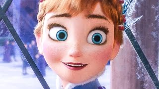 OLAF'S FROZEN ADVENTURE 'Ring In The Season Song' Movie Clip + Trailer (2017)