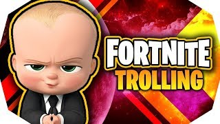 Baby CRYING Trolling On Fortnite! *VOICE TROLLING* (Fortnite Trolling)