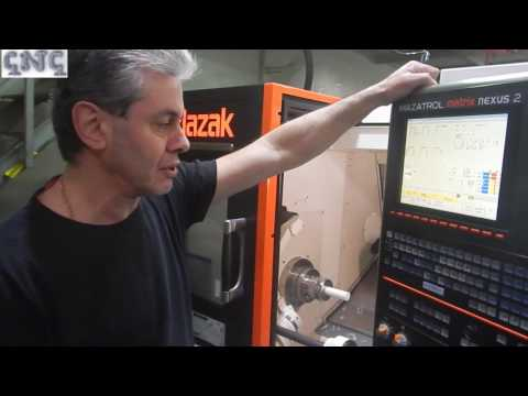 Обзор токарно-фрезерного станка чпу/CNC MAZAK NEXUS-200  (часть 2)