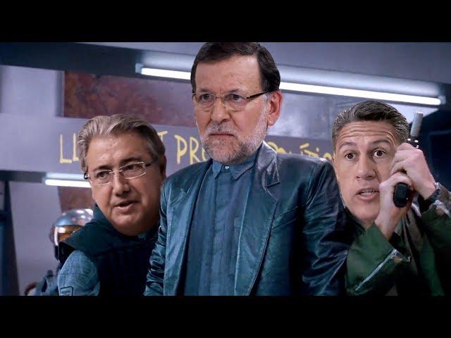 'Desafio indepe', la parodia sobre la llegada de Puigdemont a España