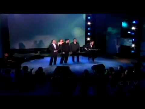 The Canadian Tenors  - Hallelujah (Ft. Celine Dion)