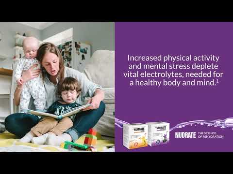 Nudrate assists in keeping you and your family hydrated