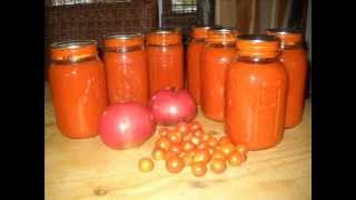 How To Can Homemade Tomato Soup - PROCESS QUARTS FOR 40 MINUTES!