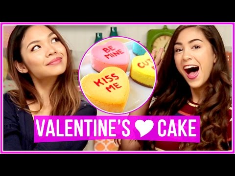 DIY Valentine's Day Treats! | Let's Get Snacking w/ MissTiffanyMa and ClayCupcakes4