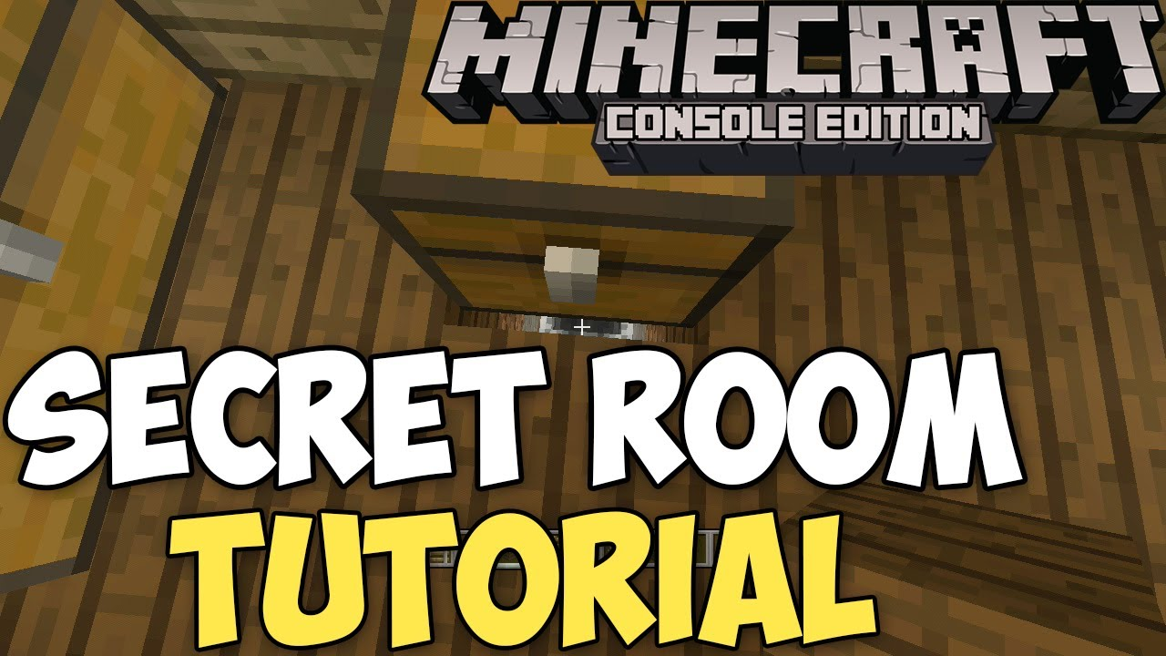 How To Make A Secret Room In Minecraft Xbox