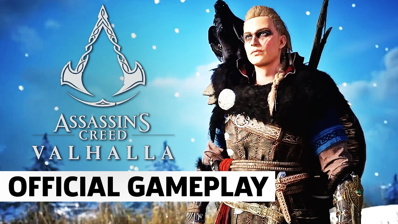Assassin S Creed Valhalla Official Gameplay Overview Trailer Youtube