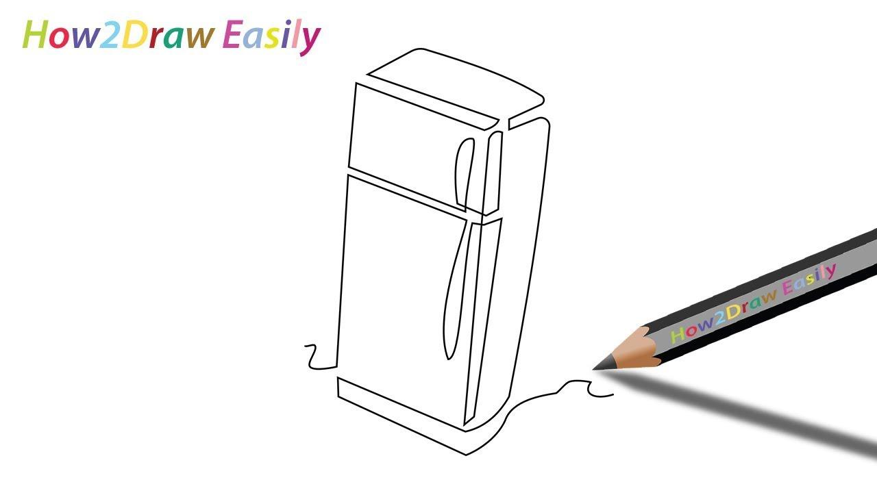 simple Schaltplang refrigerator