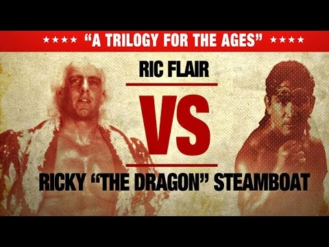 """WWE Network: Ric Flair and Ricky """"The Dragon"""" Steamboat's greatest match ever?"""