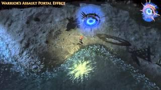 Path of Exile - Warrior's Assault Portal Effect