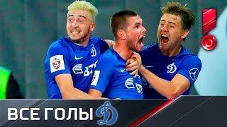 «Динамо». Все голы первой части сезона РФПЛ