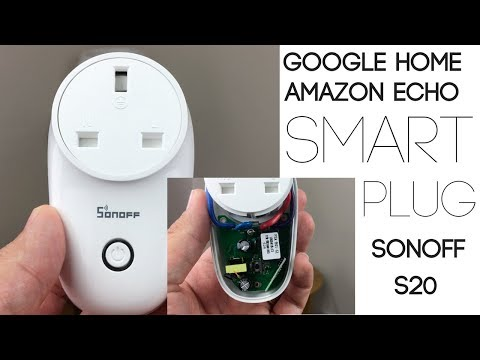 SONOFF S26 WiFi Smart Plug Socket - UK Plug (Works with