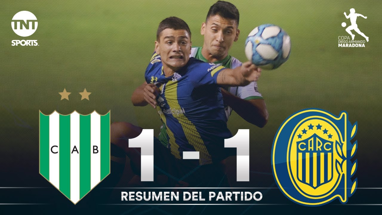 Resumen de Banfield vs Rosario Central (1-1) | Fecha 6 | Zona 3 - Copa Diego Armando Maradona