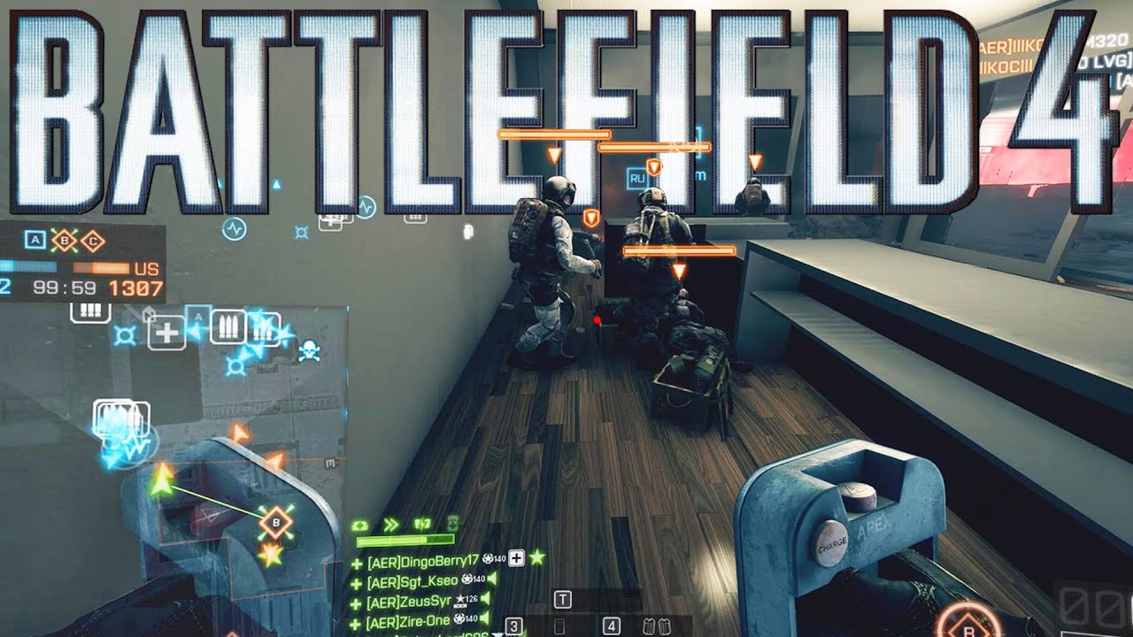Perfectly timed moments in Battlefield 3 and 4! - Only in Battlefield!