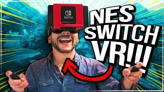 First YouTuber to test Exklim NS Glasses 3-D VR Headset for Nintendo Switch [Viva Frei]