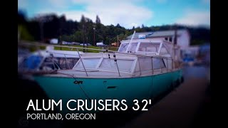 Used 1971 Aluminum Cruisers 32 ( Marinette ) for sale in Portland, Oregon