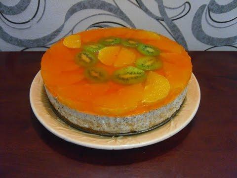 торт тропический рай рецепт с фото
