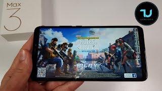 Xiaomi Mi Max 3 PUBG Mobile/Rules of Survival/Creative Destruction/Gaming test/Snapdragon 636