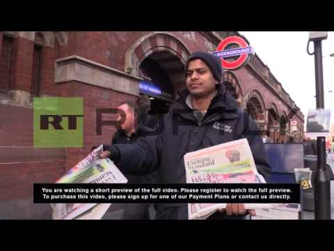 UK: London mourns the loss of RMT leader Bob Crow