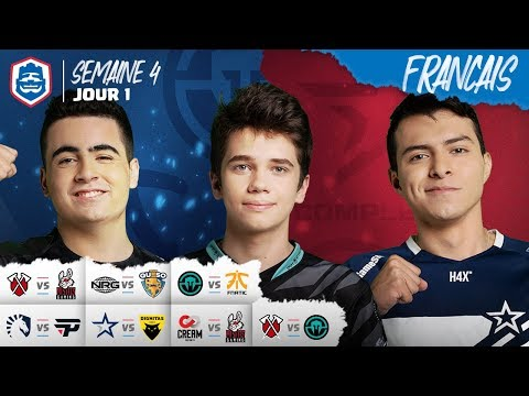Clash Royale League : CRL West Fall 2019  | Semaine 4 Jour 1 ! (Français)