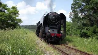 Parní lokomotiva řady 475.1 přezdívaná Šlechtična HD   , Czech Steam locomotive 475