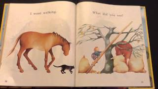 """I Went Walking"" by Sue Williams - Read Aloud"