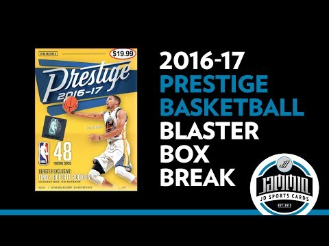 2016-17 Panini Prestige Basketball Blaster Box Break