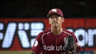 6回、楽天のドラフト2位ルーキー・小野郁が1軍初登板。持ち味である球の...