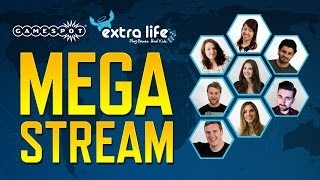 GameSpot Extra Life MEGA STREAM!
