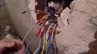 видео электромонтажные работы в москве