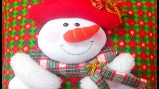 Cojín Navideño  Nieve