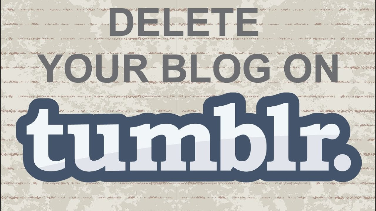How to create a secondary blog on tumblr