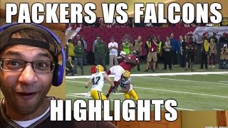 Green Bay Packers VS Atlanta Falcons HIGHLIGHTS 1/22/2017| NFC Championship game (REACTION)