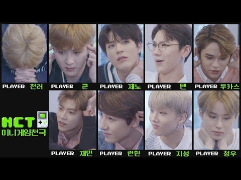 NCT 미니게임천국 (NCT Mini Game Series) [Eng Sub]