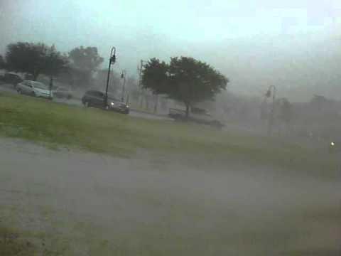Hurricane Irene 2011 - Buckroe Beach, VA