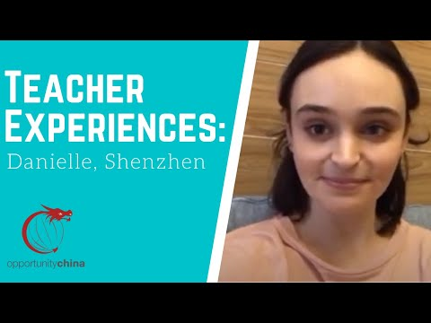 Danielle Teaching in China- Work Life, Apartment Tour and Lunch in Shenzhen