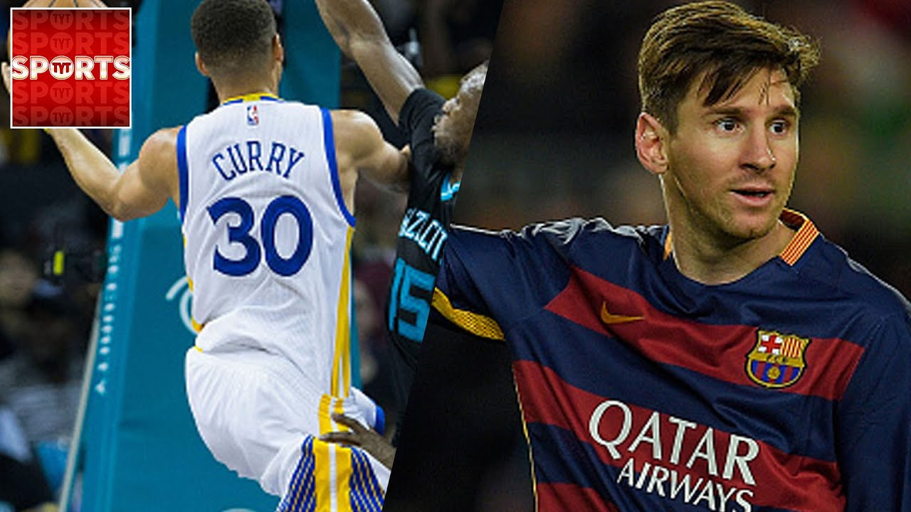 c704250bb Steph CURRY vs. Lionel MESSI  Who Is MORE RELIABLE  - YouTube
