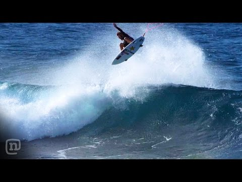 "Surfer Matt Meola lands world's first spindle flip air in ""Home"""