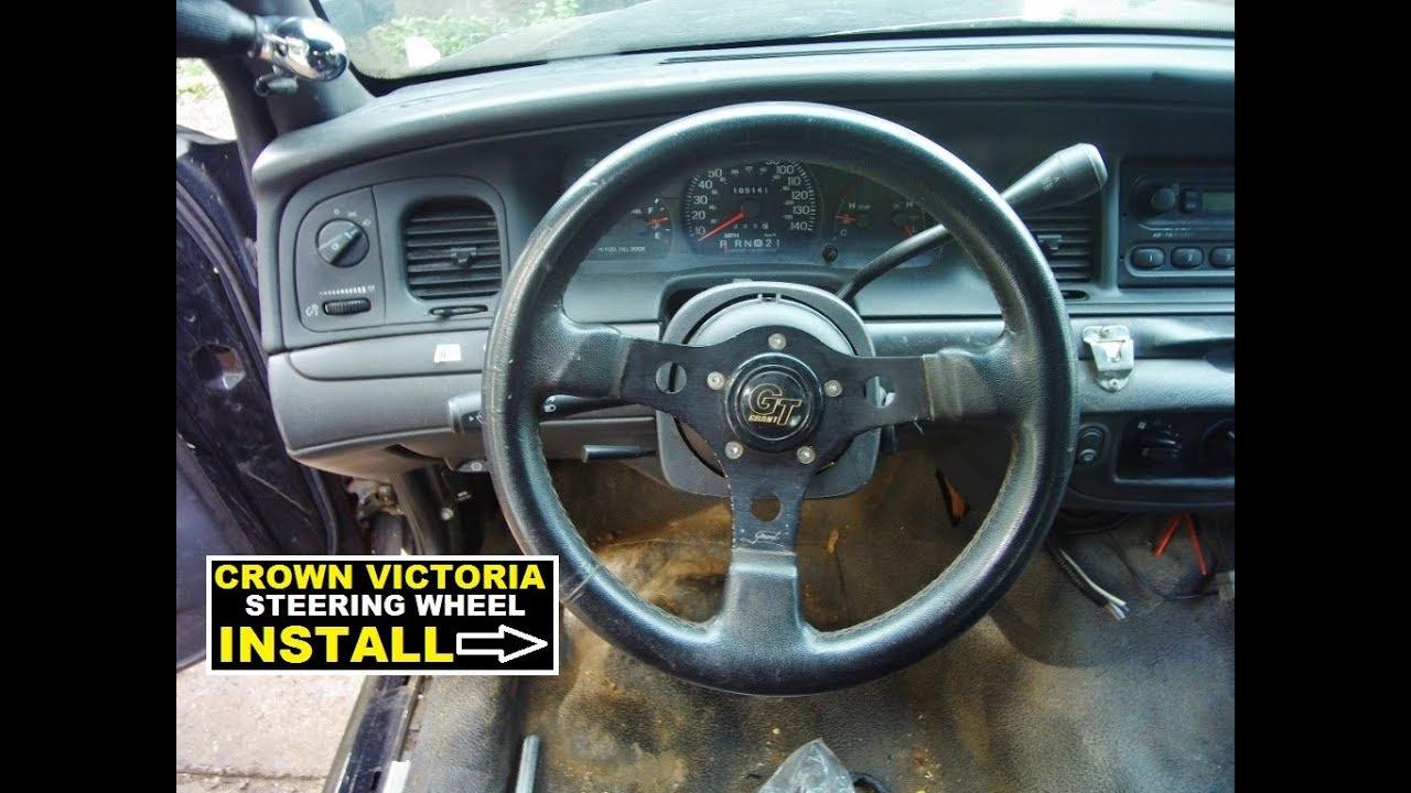 Crown Victoria Steering wheel install guide ( 1998-2011 )