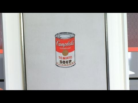 Christie's to Auction Andy Warhol and Jasper Johns Art