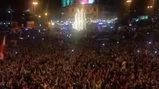 ثورة لبنان طرابلس ساحة النور ١٠٠ الف منظاهر في ٣ تشرين ٢.