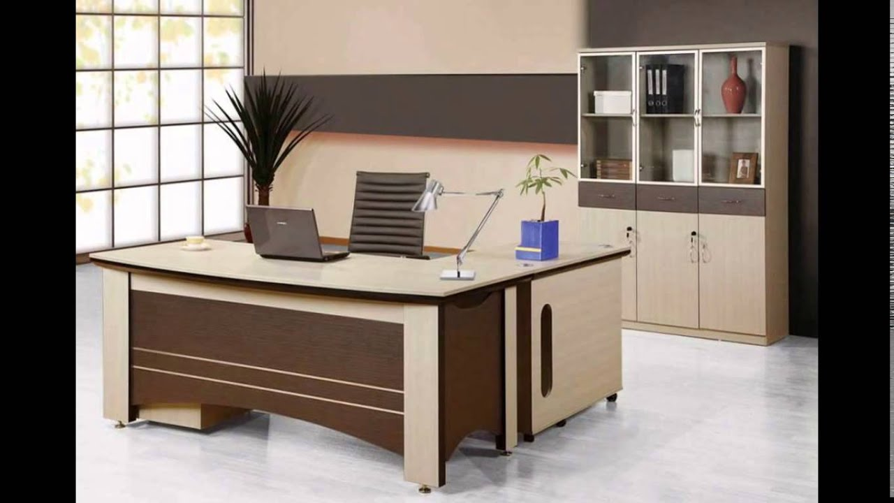 Home office decorating ideas small home office furniture layout youtube - Office furniture arrangement ideas ...