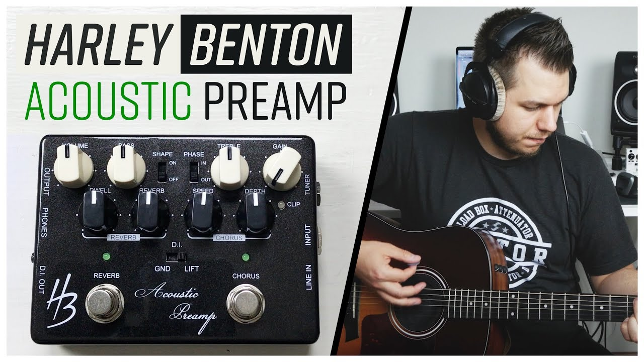 all in one pedal solution for acoustic harley benton custom line acoustic preamp demo. Black Bedroom Furniture Sets. Home Design Ideas