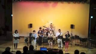DON live 2013@会津若松市稽古堂 S.sax 佐藤日向 A.sax 前島有希 A.sax ...