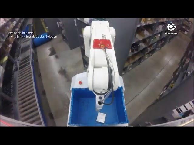 Picking Robô da Invent Smart Logistics Solution