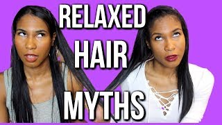 5 RELAXED HAIR MYTHS WE NEED TO STOP BELIEVING