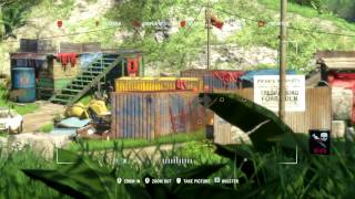 Far Cry 3 - Tiger Support in Outpost Takeover