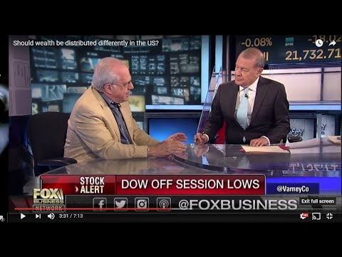 Socialist Richard Wolff versus Plutocrat, Varney on Fox Business Network